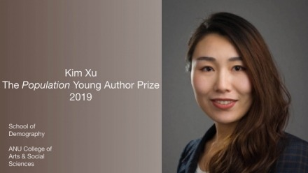 PhD student awarded Young Author's Prize by international journal